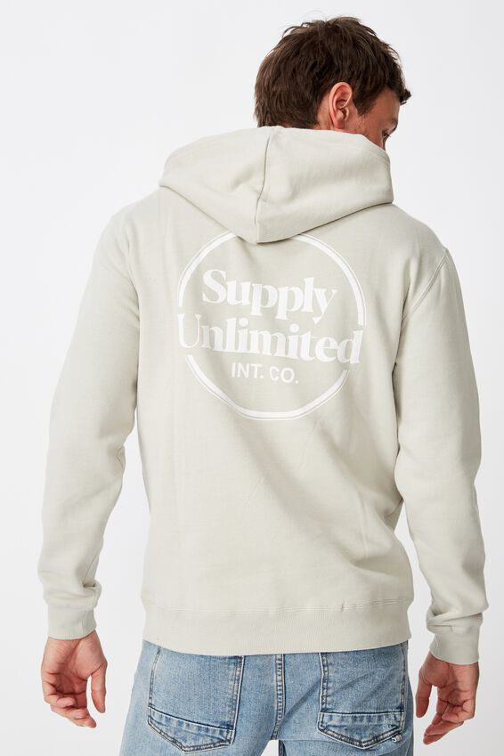 Fleece Pullover 2, SMOKE/SUPPLY UNLIMITED