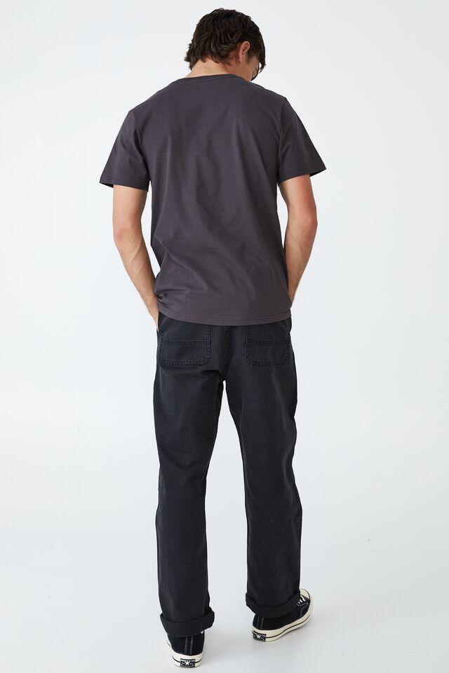 Tbar Collab Music T-Shirt, LCN MT FADED SLATE/DMX - FENCE