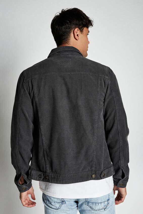 Rodeo Jacket, GREY CORD