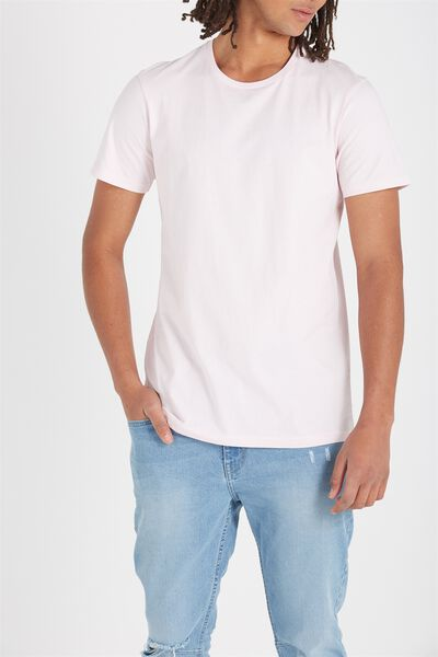 Essential Crew Tee, FROSTING PINK