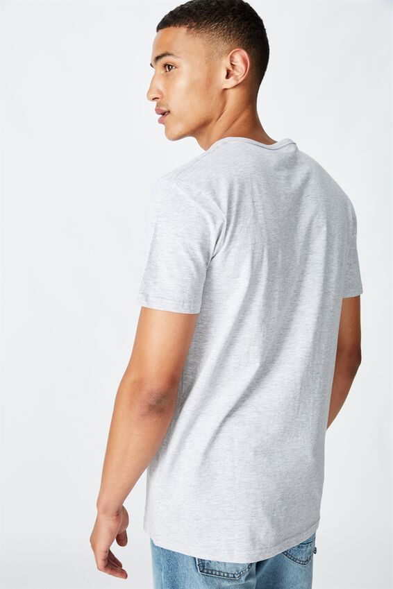 Essential Henley T-Shirt, LIGHT GREY MARLE