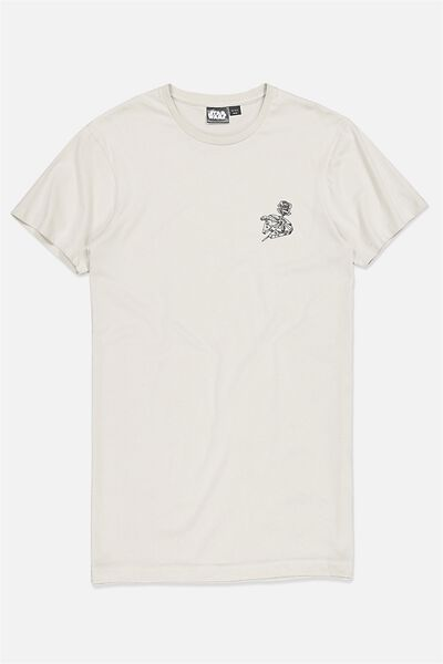 Tbar Collaboration Tee, LC IVORY/THE FOREST MOON