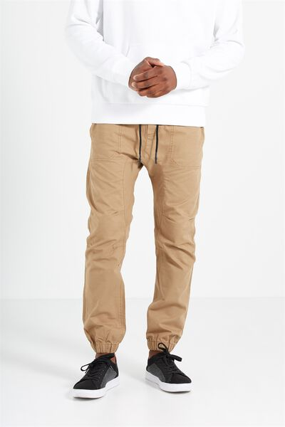 Customised Drake Cuffed Pant, CAMEL #24