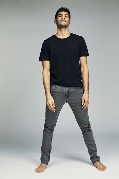Slim Fit Jean, HOUND GREY + RIPS