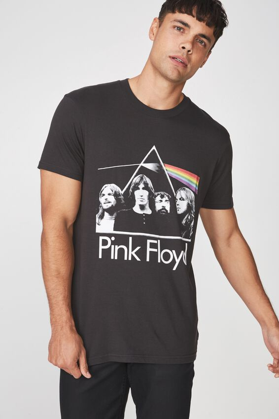 Tbar Collaboration Tee, LC WASHED BLACK/PINK FLOYD DARK SIDE OF THE MOON