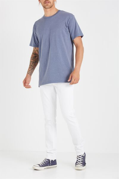 Slim Fit Jean, SONIC WHITE