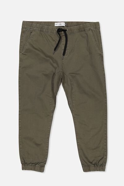 Bg Drake Cuffed Pant, WASHED OLIVE