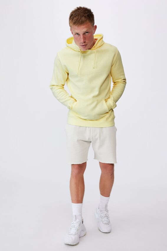 Essential Fleece Pullover, LEMON