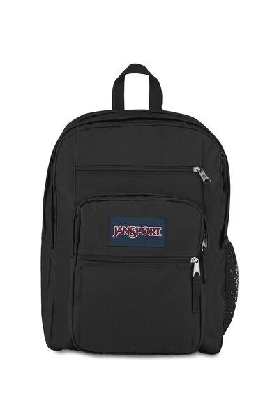 Jansport Big Student Backpack, BLACK