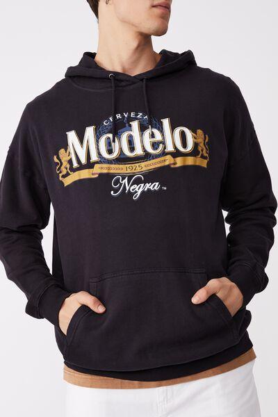 Modelo Fleece Pullover, LCN MOD INK NAVY/MODELO NEGRA LOGO