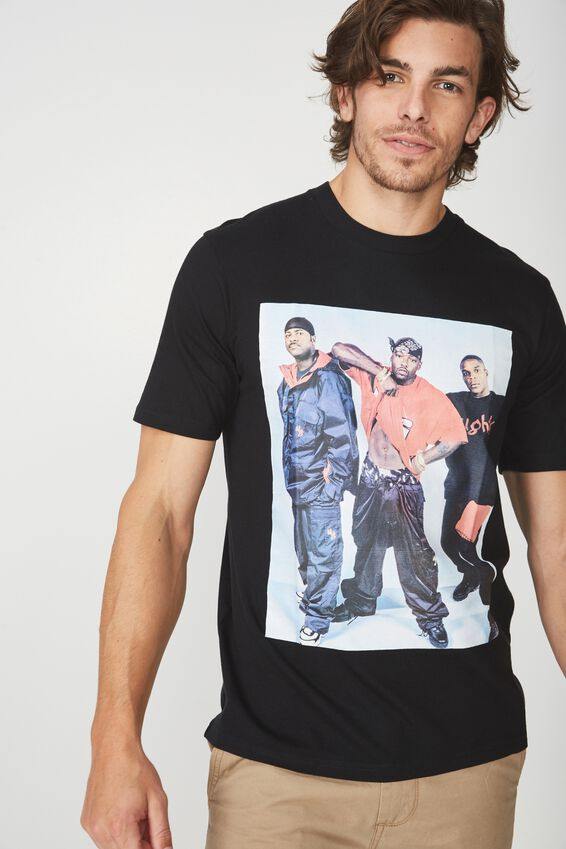 Naughty By Nature T Shirt, LC BLACK/NAUGHTY BY NATURE