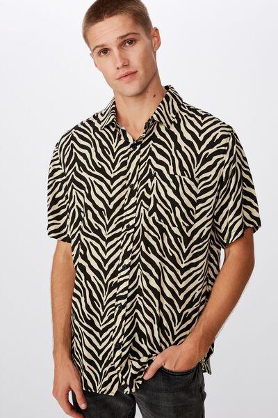 91 Short Sleeve Shirt, ZEBRA