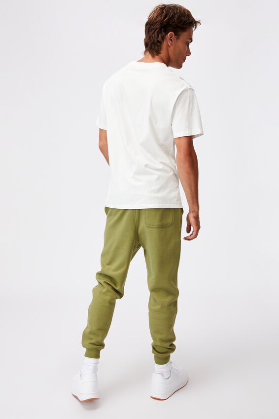 Trippy Slim Trackie, GRASS GREEN