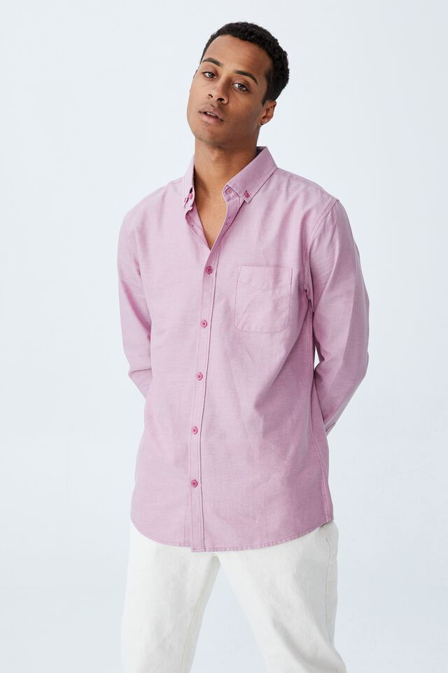 Brunswick Shirt 3, WASHED ROSE