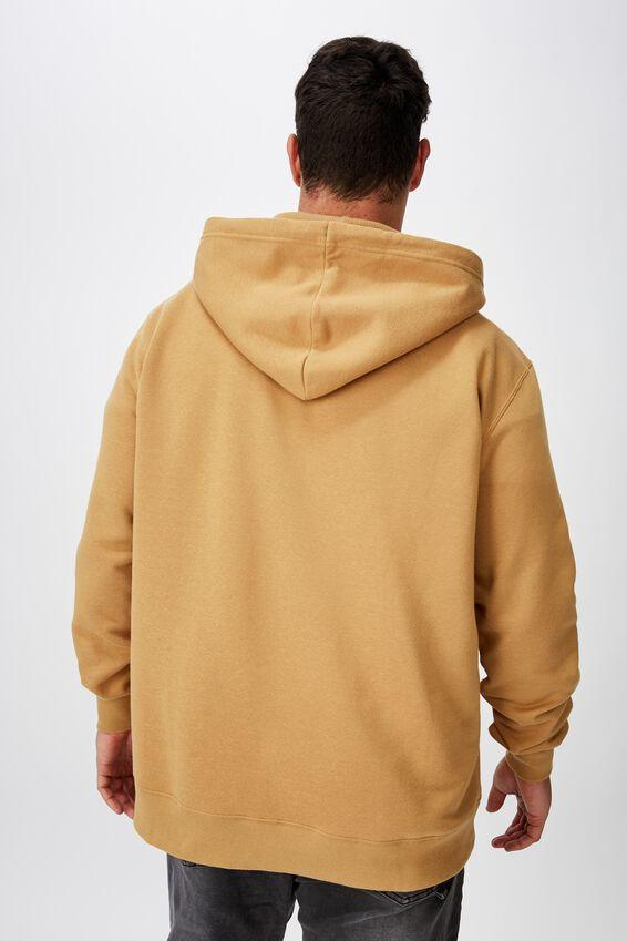 Bg Zip Up Hood, CAMEL