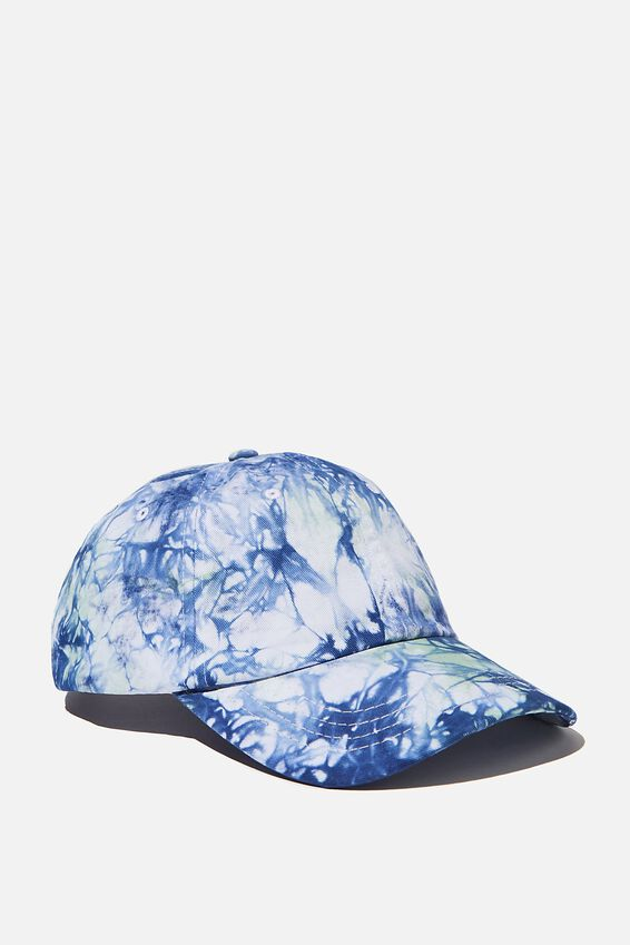 Tie Dye Dad Hat, NAVY/KHAKI/TIE DYE