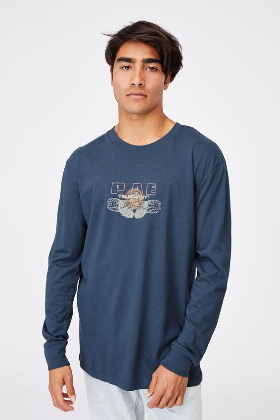 Tbar Long Sleeve T-Shirt, MOONLIGHT BLUE/PHAZE