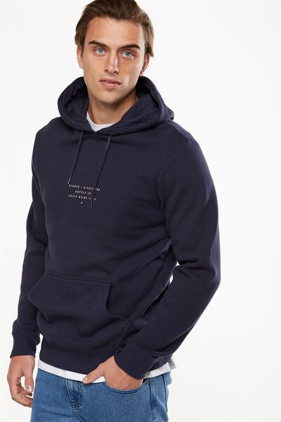 Fleece Pullover 2, TRUE NAVY/STUDIO DISSENSION