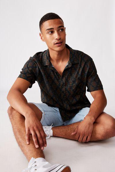 91 Short Sleeve Shirt, ORNAMENT PAISLEY