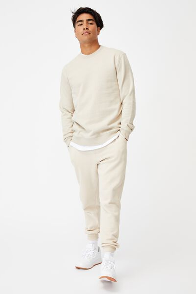 Essential Crew Fleece, PEARL
