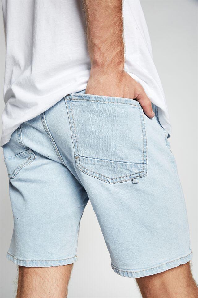 Straight Short, BONDI BLUE