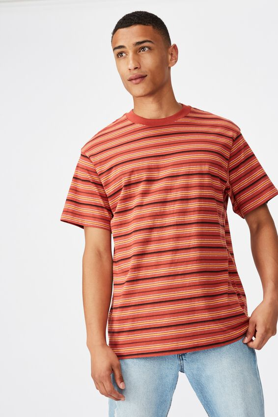 Dylan Tee, RED EARTH STRIPE