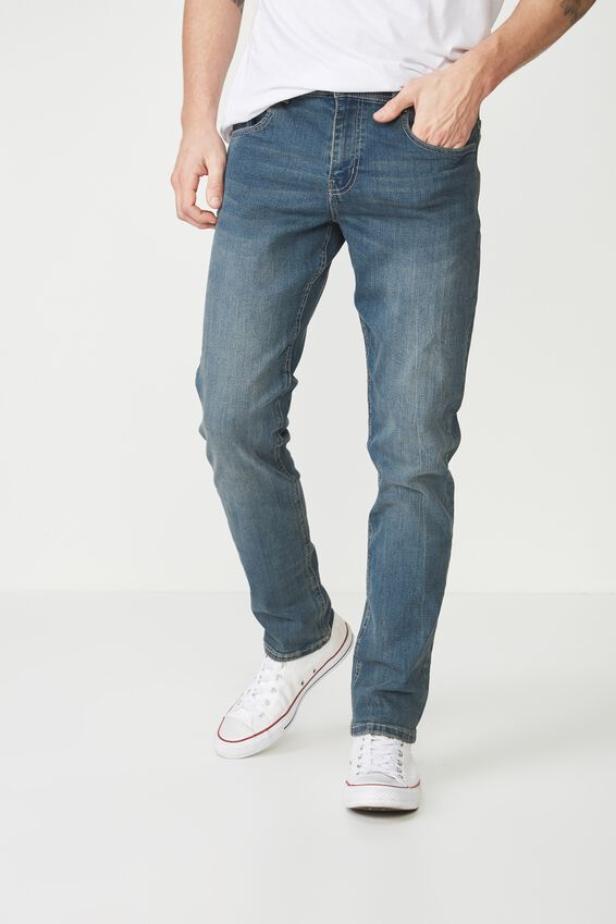 Slim Fit Jean, SMOKED INDIGO