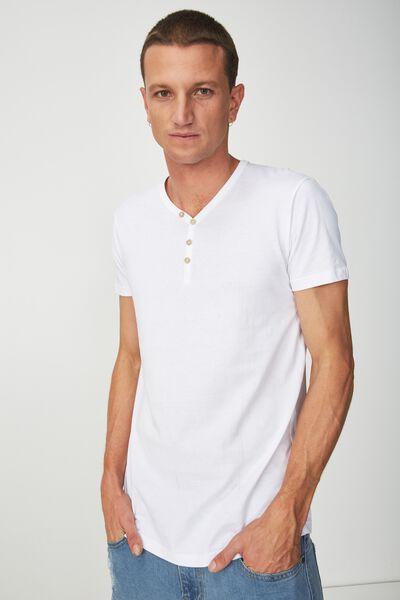 Essential Henley, WHITE
