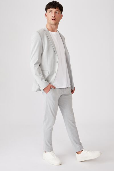 Super Stretch Suit Slim Pant, LIGHT GREY