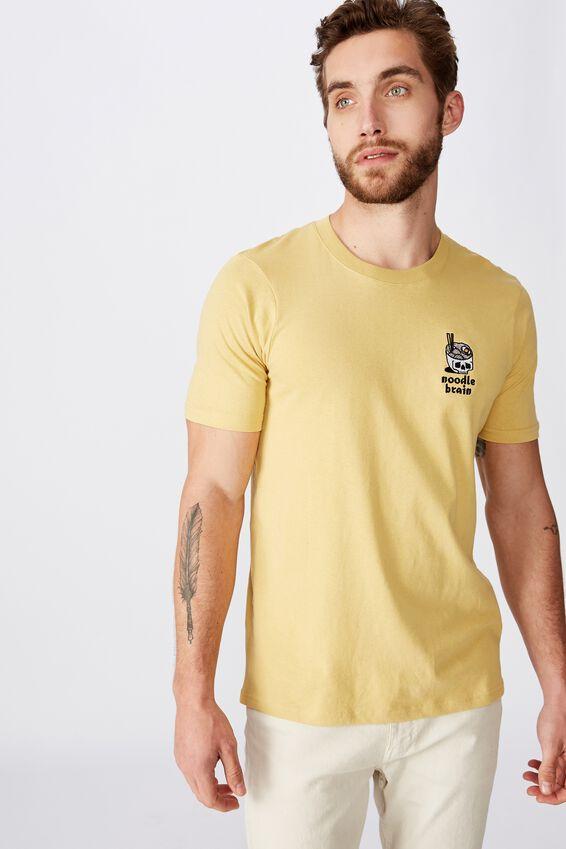 Tbar Art T-Shirt, SK8 FROSTED HONEY/RAMEN