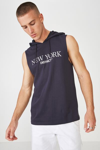 Hustle Muscle, TRUE NAVY/NY DISTRICT