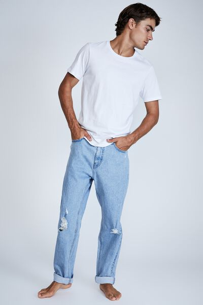 Relaxed Tapered Jean, LENNOX BLUE