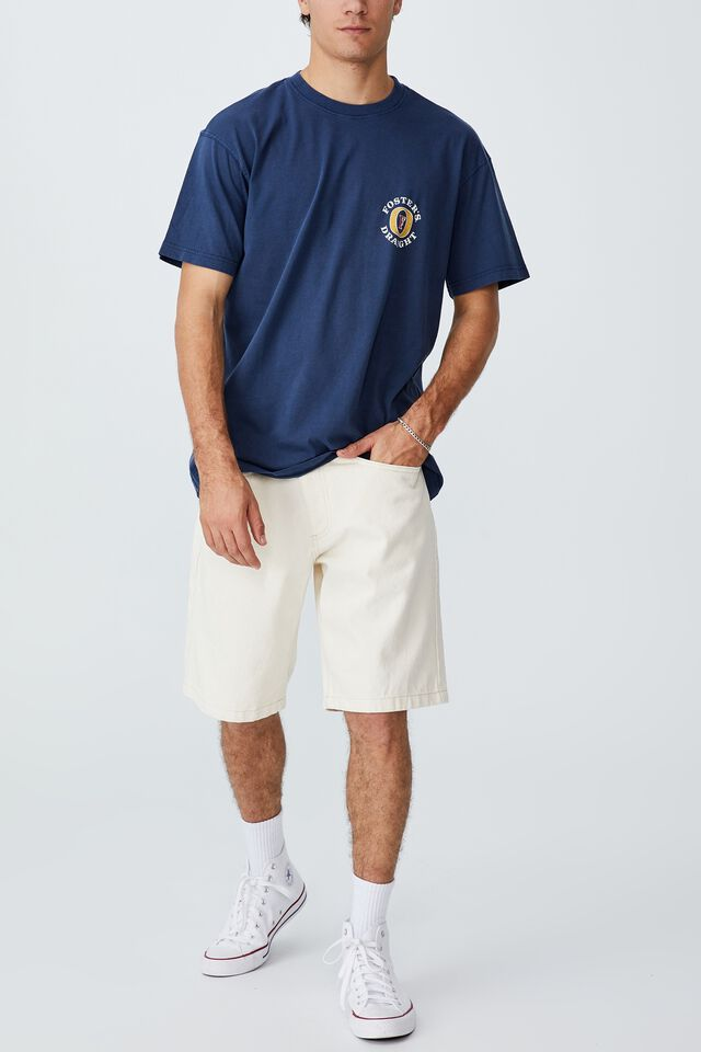 Fosters T-Shirt, LCN FOS INDIGO/FOSTERS - LOGO