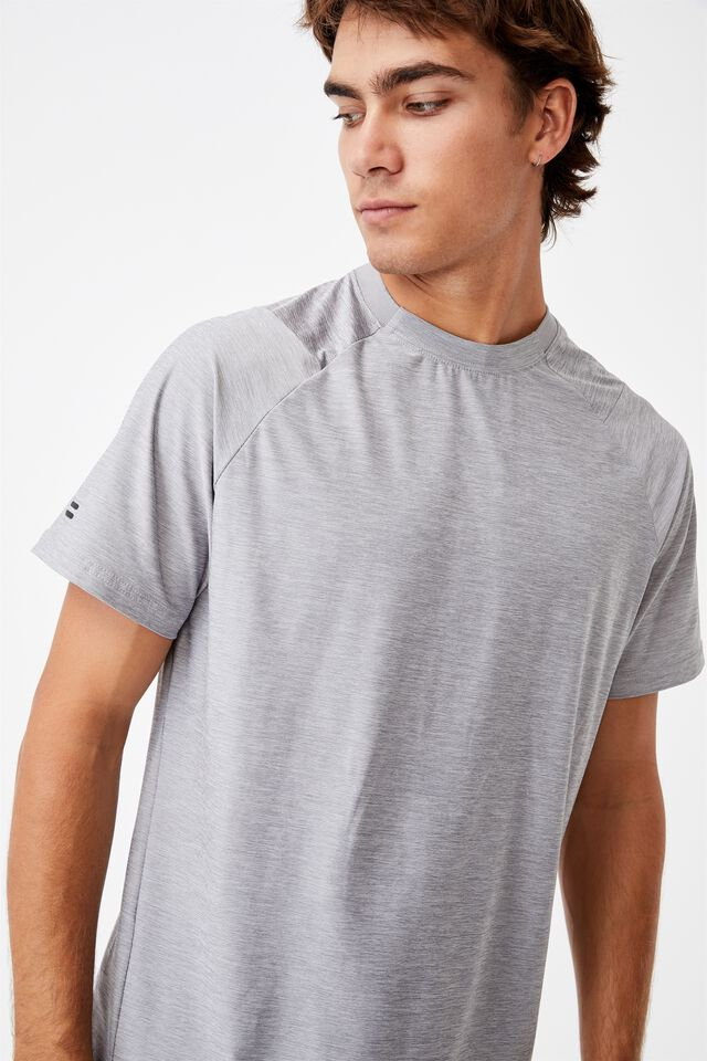 Performance Active Tech T-Shirt, ATHLETIC GREY HEATHER