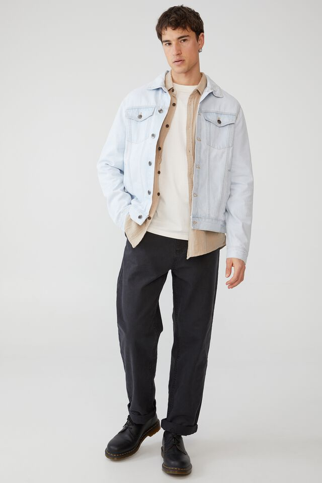 Rodeo Jacket, STONE LIGHT BLUE
