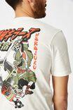Tbar Art T-Shirt, VINTAGE WHITE/MACHINE KILLERS HARAJUKU