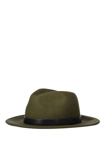 Marshall Felt Hat, KHAKI