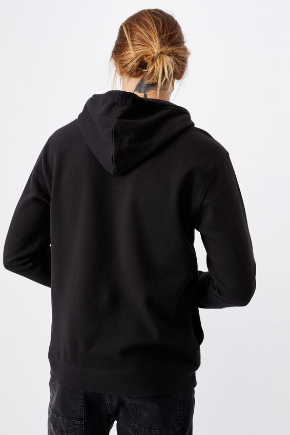 Fleece Pullover 2, WASHED BLACK FREEDOM CYCLES