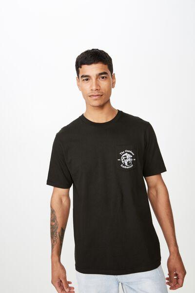 Tbar Souvenir T-Shirt, BLACK/OUTDOORS MAN