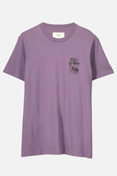Tbar Tee 2, PURPLE DAYS/THIS IS THE END