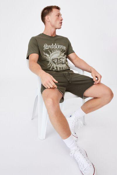 Tbar Collab Music T-Shirt, LCN LIV MILITARY/SUBLIME-LOGO