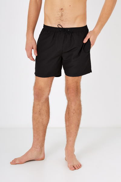 Swim Short, TRUE BLACK