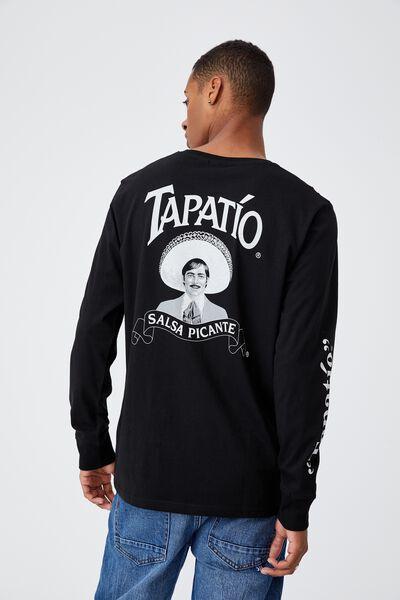 Lounge Long Sleeve T-Shirt, LCN TAP BLACK/TAPATIO - HOT SAUCE