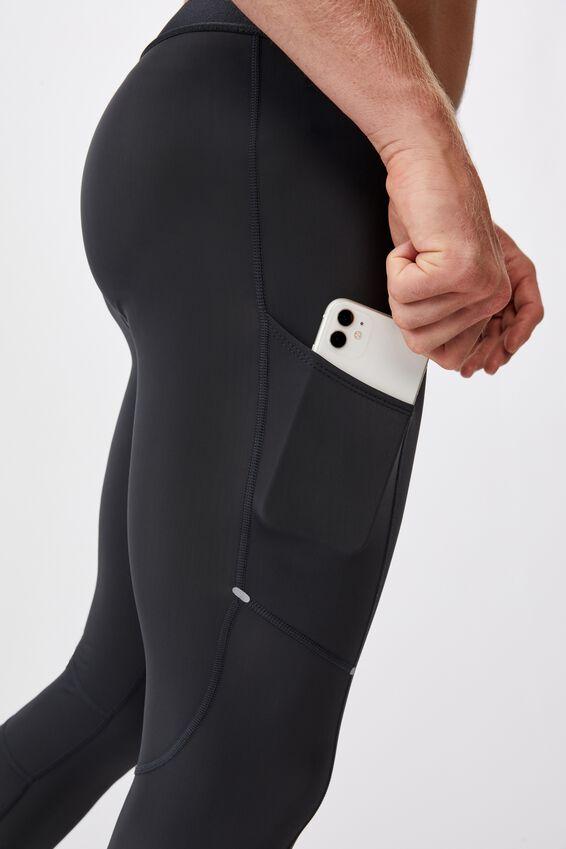 Active Tech Legging, CHARCOAL