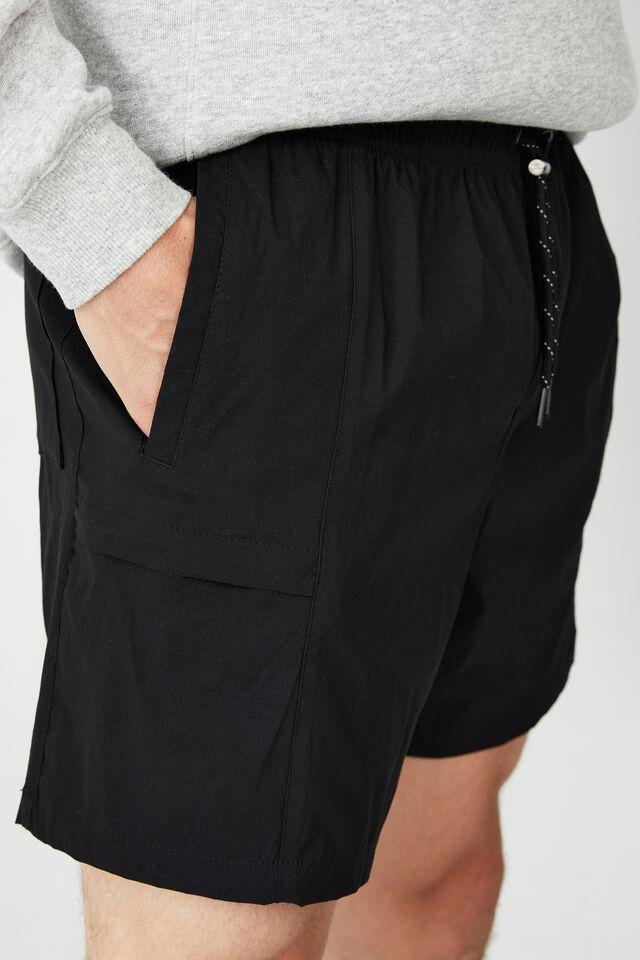 Nylon Urban Short, BLACK