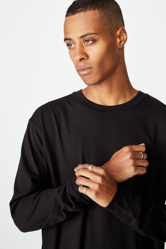 Tbar Long Sleeve, BLACK