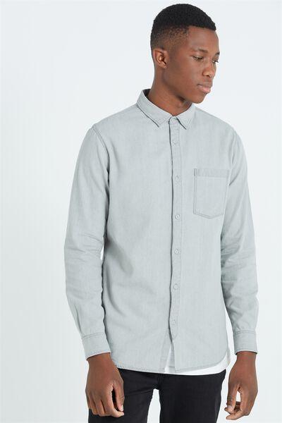 91 Shirt, GREY DENIM
