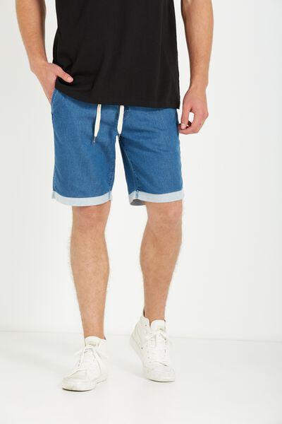 Tailored Casual Short, INDIGO BLUE