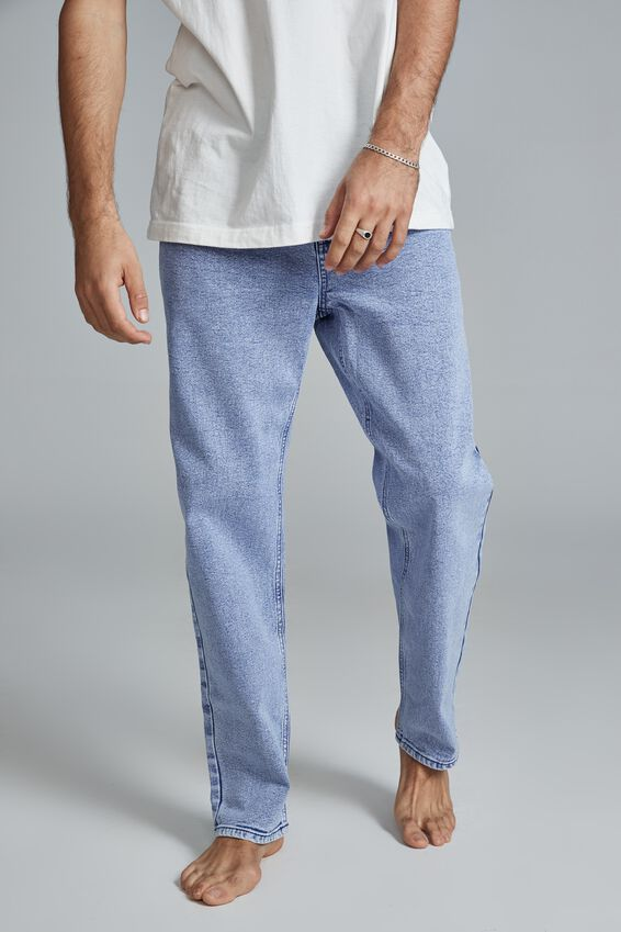 Beckley Straight Jean, TOUR BLUE