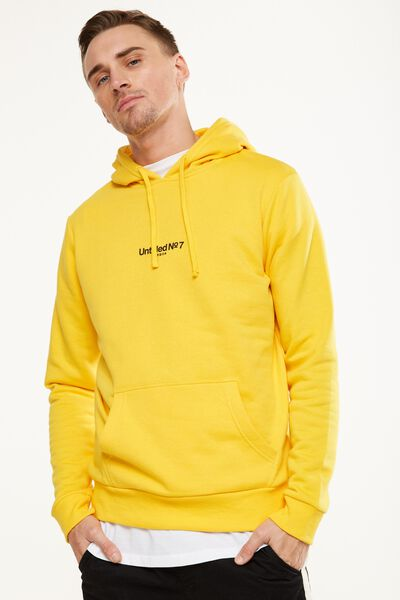 Fleece Pullover 2, SAFETY YELLOW/UNTITLED NO 7